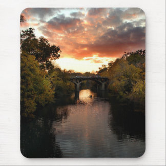 Barton Creek Sunset - Austin Texas Mouse Pad