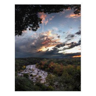 Barton Creek Sunset - Austin, Texas Postcard