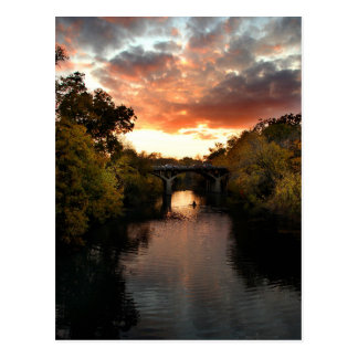 Barton Creek Sunset - Austin Texas Postcard