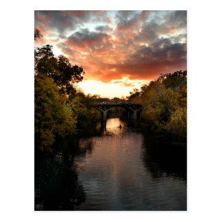 Barton Creek Sunset - Austin Texas Post Card