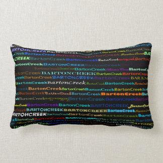 Barton Creek Text Design I Lumbar Pillow