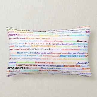 Barton Creek Text Design II Lumbar Pillow