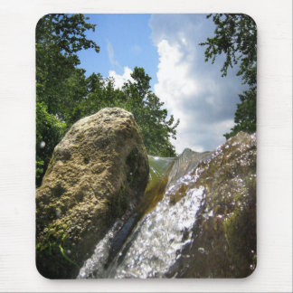 Barton Creek Waterfall 4 - Austin Texas Mouse Pad