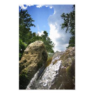 Barton Creek Waterfall 4 - Austin Texas Photograph