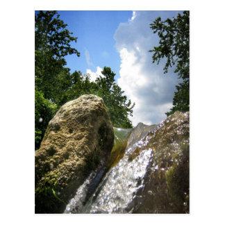 Barton Creek Waterfall 4 - Austin Texas Postcard