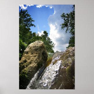 Barton Creek Waterfall 4 - Austin Texas Posters