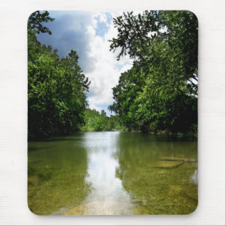 Barton Creek Waterfall 5 - Austin Texas Mouse Pad