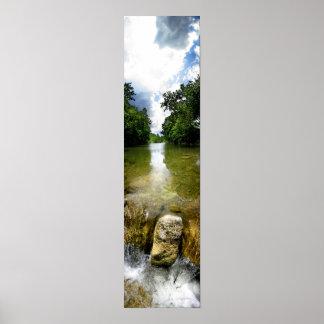 Barton Creek Waterfall 5 - Austin Texas Posters