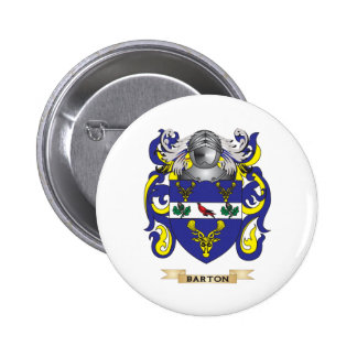 Barton- England Coat of Arms Family Crest Pins