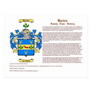 Barton (historia) tarjeta postal
