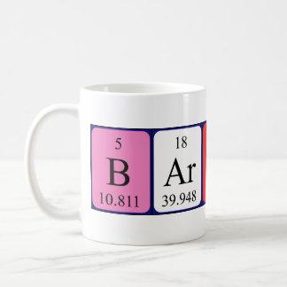 Barton periodic table name mug