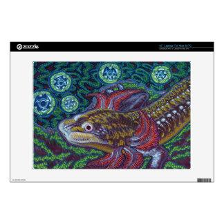 Barton Springs Salamander (Eurycea sosorum) Laptop Decal