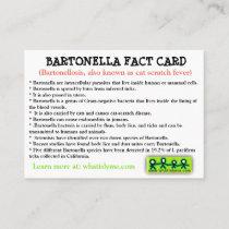 Bartonella Fact Card