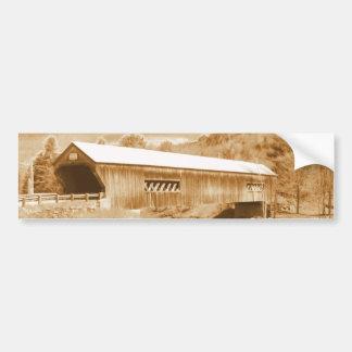 Bartonsville Covered Bridge Bumper Stickers