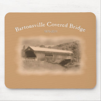 Bartonsville Covered Bridge Memorial Mouse Pad