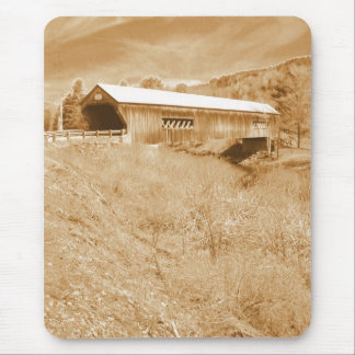 Bartonsville Covered Bridge Mouse Pad