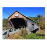 Bartonsville Covered Bridge Rockingham Vermont Postcard