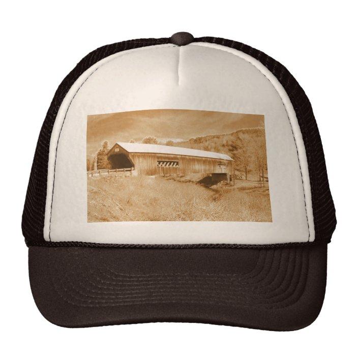 Bartonsville Covered Bridge Trucker Hat