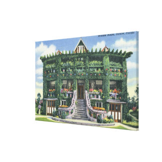 Bartow, Florida - Front View of the Wonder Canvas Print