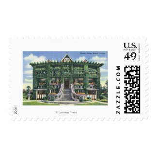 Bartow, Florida - Front View of the Wonder Postage