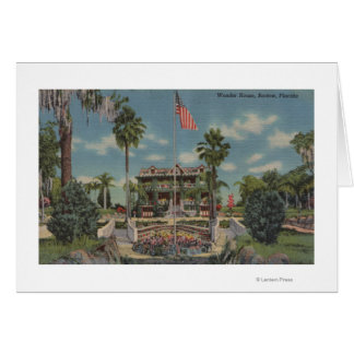 Bartow, Florida - View of Wonder House and Garde Card