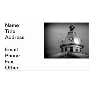 Bartow Timepiece Double-Sided Standard Business Cards (Pack Of 100)