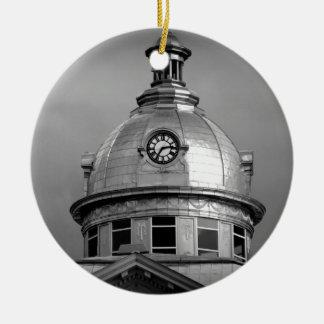 Bartow Timepiece Ceramic Ornament