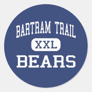 Bartram Trail - Bears - High - Jacksonville Classic Round Sticker