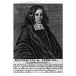 Baruch de Spinoza Card