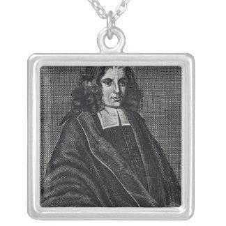 Baruch de Spinoza Collar Plateado