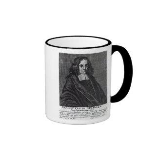 Baruch de Spinoza Ringer Coffee Mug