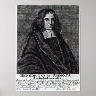 Baruch de Spinoza Póster