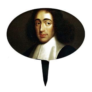 Baruch Spinoza Cake Topper