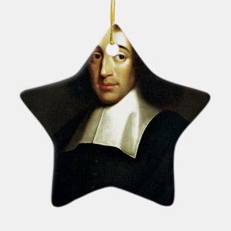 Baruch Spinoza Ceramic Ornament