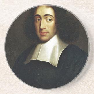 Baruch Spinoza Drink Coaster