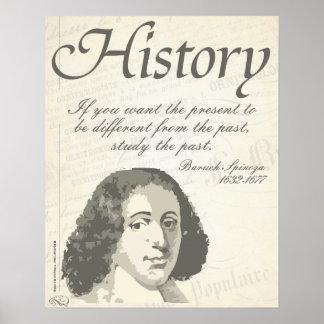 Baruch Spinoza [historia] Póster