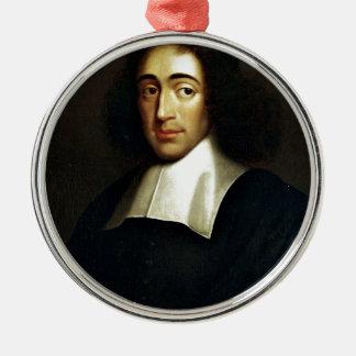 Baruch Spinoza Metal Ornament