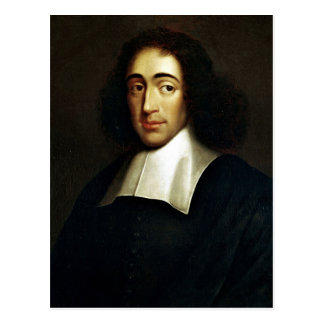 Baruch Spinoza Postcard