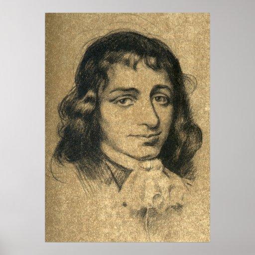 Baruch Spinoza Póster