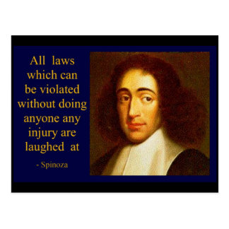 Baruch Spinoza Tarjetas Postales