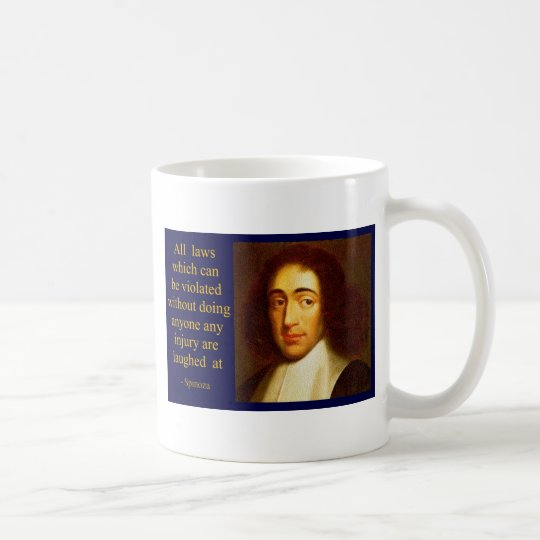 Baruch Spinoza Taza De Café