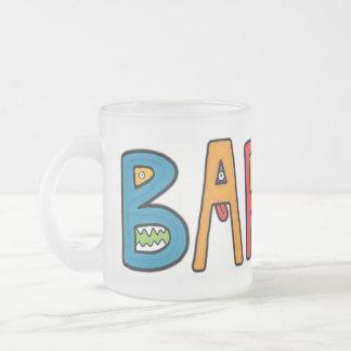 """Barun"" Monster Letters Mugs"