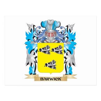 Barwick Coat of Arms Postcards