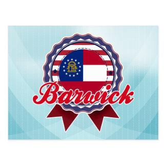 Barwick, GA Postcard