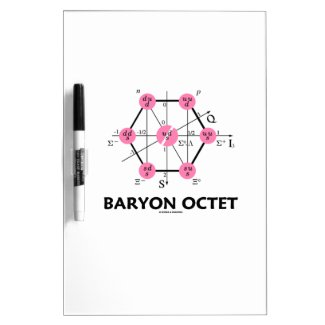 Baryon Octet (Particle Physics) Dry-Erase Boards