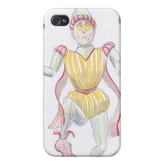 Baryon Quark Cartoon Medieval Baron Juggling iPhone 4/4S Covers