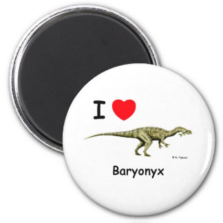 Baryonyx 2 Inch Round Magnet