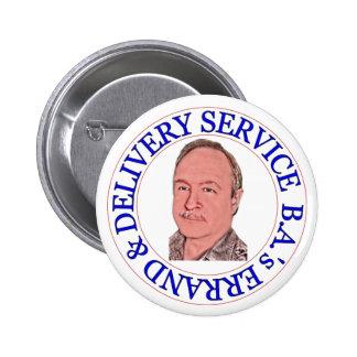 BA's Errand & Delivery Service 2 Inch Round Button