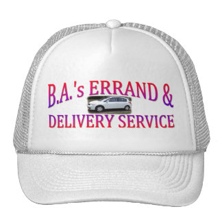 BA's Errand & Delivery Service Trucker Hat