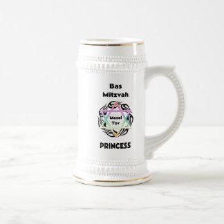 Bas Mitzvah Princess 18 Oz Beer Stein